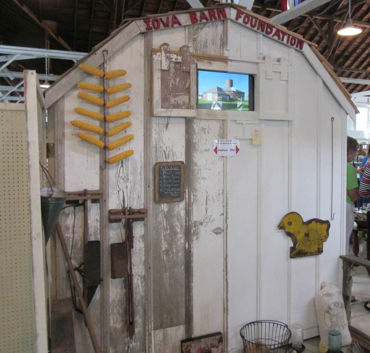 Iowa State Fair Booth